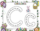 Easter Race to Trace Alphabet Mats