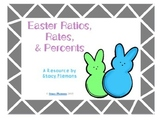 Easter Ratio, Rates, & Percents Task Cards