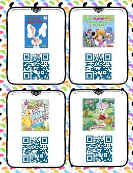 Easter Read Aloud Books QR Code Listening Center