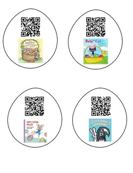 Easter Read Alouds QR Codes