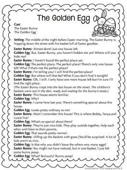 Easter Reader's Theater: Partner Plays for Two Readers