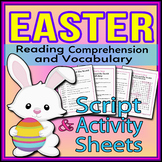 Easter - Readers Theater Holiday Script, Reading & Activity Packet