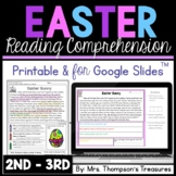 Easter Reading Comprehension Nonfiction Grades 2-3
