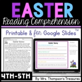 Easter Reading Comprehension Nonfiction Grades 4-5