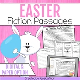 Easter Activities for Reading Comprehension- Distance Learning Google Classroom