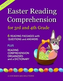 Easter Reading Comprehension for 3rd & 4th Grade