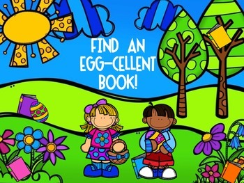 Easter Reading Encouragers (Themed Bookmarks, Reading Log, and Poster)