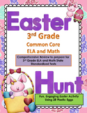 THIRD GRADE EASTER HUNT Reading, L/Arts, and Math Review COMMON