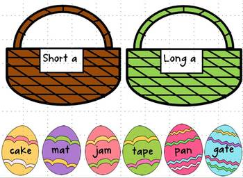 Easter Reading & Math Centers