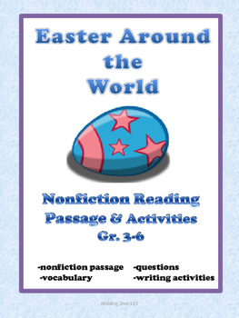 Easter  Reading Passage and Activities