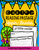 Easter Reading Comprehension Passage