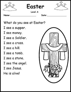 Easter Reading Passages A-E