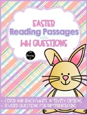 Easter Reading Passages with WH Questions
