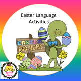 Easter Receptive Language Activities