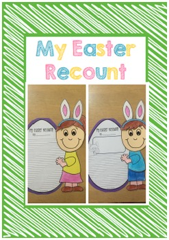 Easter Recount Writing and Craft