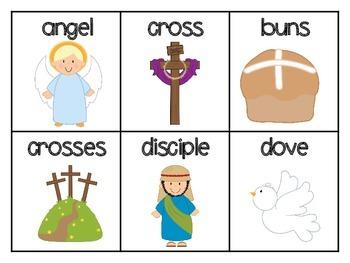 Easter (Religious) ABC order, Spring