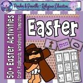 Easter ~ The story of Jesus ~ Craft, Flashcards, Worksheet