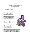 Easter Religious Spainish Tracer Page
