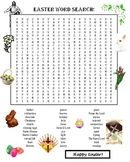 Easter Religious Word Search Puzzle
