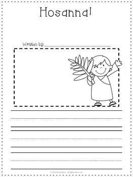 Easter Religious Writing Prompts FREEBIE