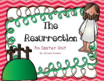 Easter Ressurection Christian Preschool/ Kindergarten Unit