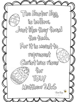 Easter Resurrection  Printable
