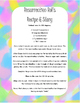 Easter Resurrection Rolls Recipe and Story Printable