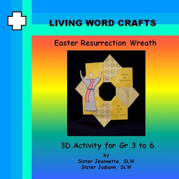 Easter Resurrection Wreath for Gr. 3 to 6