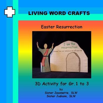 Easter Resurrection for Gr. 1 to 3