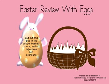 Easter Review with Eggs
