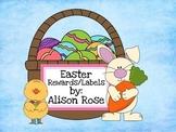 Easter Rewards or Easter Labels (editable)