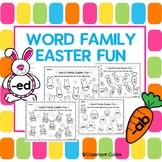 Easter Rhyming Word Family Work