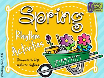 Spring Rhythm Activities - Ta, Ti-ti, Tiri-tiri, Ti-tiri, Tiri-ti