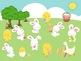 Easter Rhythms - A Game for Practicing Ta and Ti-Ti (2 bars)