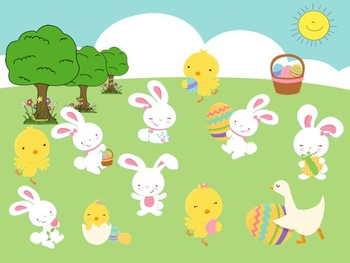 Easter Rhythms - A Game for Practicing Ta,Ti-Ti and So, Mi