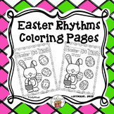 Easter Rhythms Coloring Pages (FREEBIE)