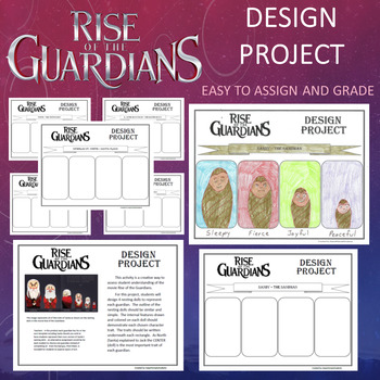 Christmas Easter - Rise of the Guardians Movie Design Project
