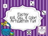 Easter Roll Say and Color Articulation