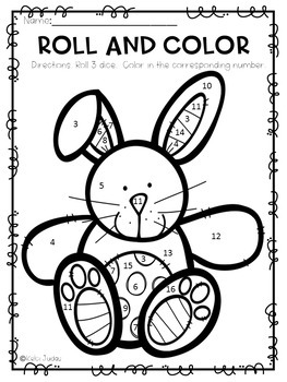 Easter Roll and Color