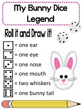Easter Roll and Color Math Games
