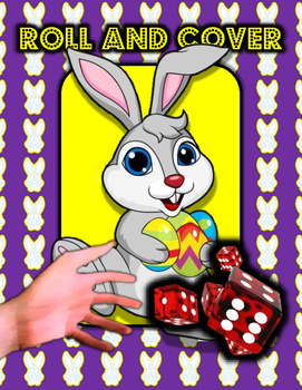 Easter Roll and Cover Activity Game