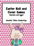 Easter Roll and Cover Games (bunnies and eggs)