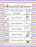 Easter Roll and Draw an Easter Bunny (2 games in 1)
