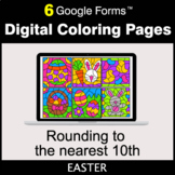 Easter: Rounding to the nearest 10th - Google Forms   Digi