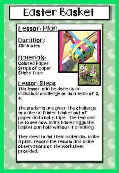 10 Easter STEM Challenges (April)