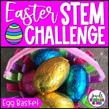 Easter STEM Activities (Egg Basket Easter STEM Challenge)