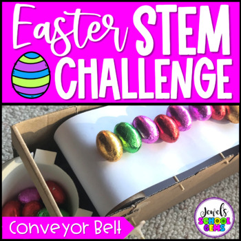 Easter STEM Activities (Egg Conveyor Belt Easter STEM Challenge)
