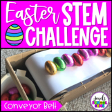 Easter STEM Activities (Egg Conveyor Belt STEM Challenge)
