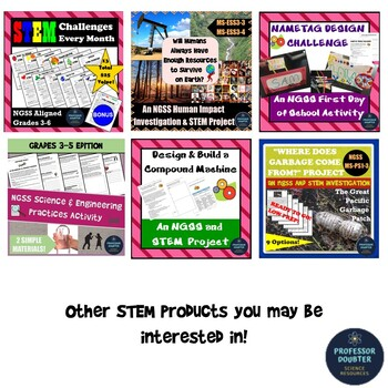 Easter STEM Activity Challenge NGSS Aligned