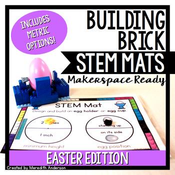 Easter STEM Center for Building Bricks: STEM Mats